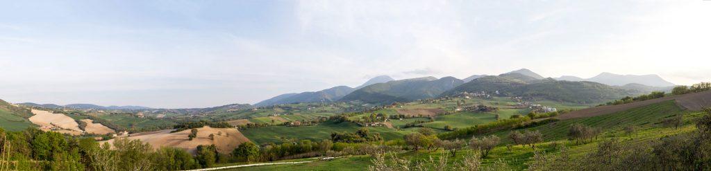 Abbazia di Sant'urbano - La valle